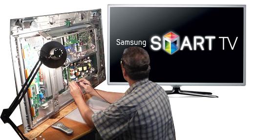 Ремонт телевизоров Samsung в СПб недорого с гарантией